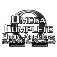 Omega Complete Logo for Body Appliers w/o Neck Blenders