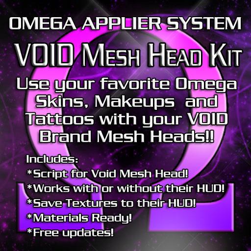 Omega System Kit - Void Mesh Head AD